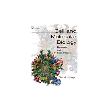 Cell and Molecular Biology: Concepts and Experiments, New Book (9780470483374)