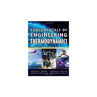 Fundamentals of Engineering Thermodynamics, New Book (9780470495902)