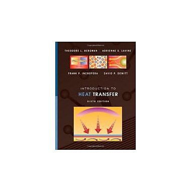 Introduction to Heat Transfer, Used Book (9780470501962)