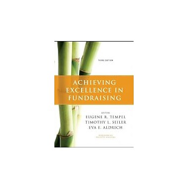 Achieving Excellence in Fundraising, New Book (9780470551738)