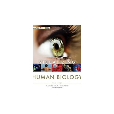 Visualizing Human Biology, New Book (9780470569191)