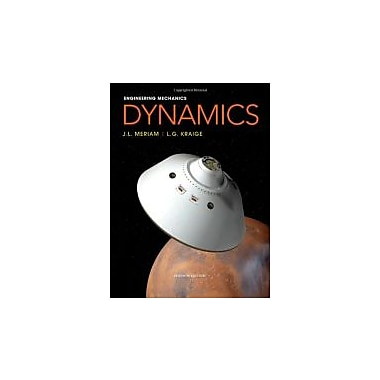 Engineering Mechanics: Dynamics, Used Book (9780470614815)