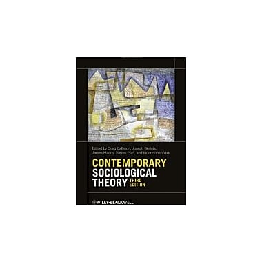 Contemporary Sociological Theory, New Book (9780470655665)