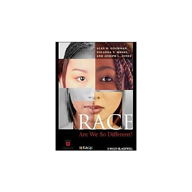 Race: Are We So Different, New Book (9780470657140)