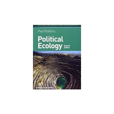 Political Ecology: A Critical Introduction, New Book (9780470657324)