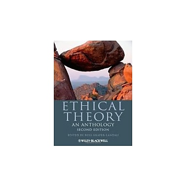 Ethical Theory: An Anthology, New Book (9780470671603)