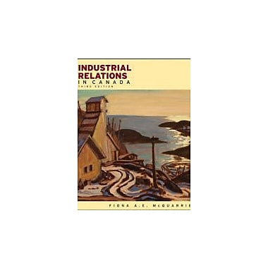 Industrial Relations in Canada, New Book, (470678879)