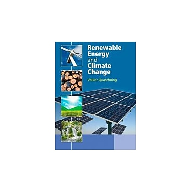 Renewable Energy and Climate Change, New Book (9780470747070)
