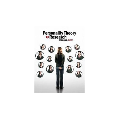 Personality Theory and Research: An International Perspective, New Book (9780470835500)