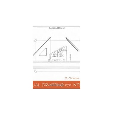 Manual Drafting for Interiors, New Book (9780470879405)