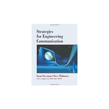 Strategies for Engineering Communication, New Book (9780471128175)