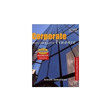 Corporate Finance: Theory and Practice, Used Book (9780471392200)