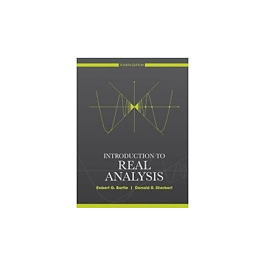 Introduction to Real Analysis, New Book (9780471433316)