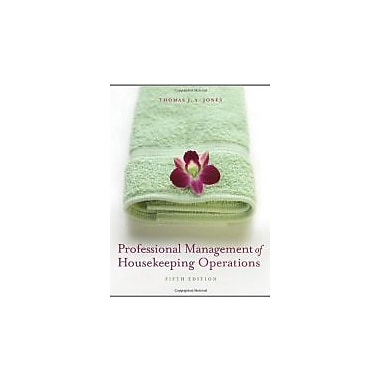 Professional Management of Housekeeping Operations, New Book (9780471762447)