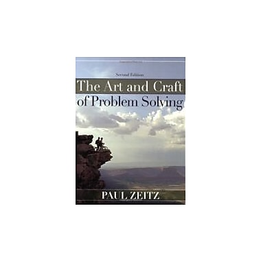 The Art and Craft of Problem Solving, New Book (9780471789017)