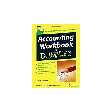 Accounting Workbook For Dummies, New Book (9780471791454)
