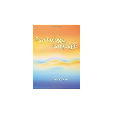 Psychology of Language, Used Book (9780495099697)