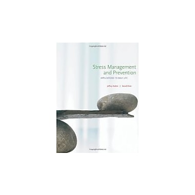 Stress Management & Prevention: Applications to Daily Life, Used (9780495117858)