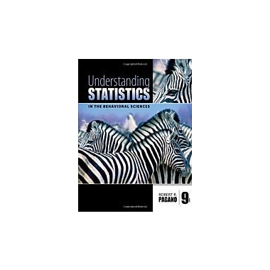 Understanding Statistics in the Behavioral Sciences, New Book (9780495596523)