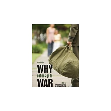 Why Nations Go to War, New Book (9780495797180)
