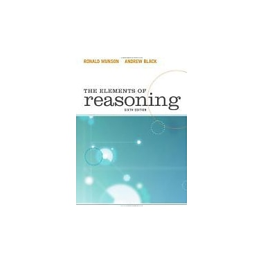 The Elements of Reasoning, Used Book (9780495809180)