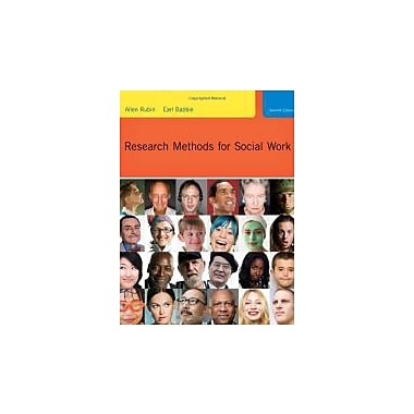 Research Methods for Social Work, New Book (9780495811718)
