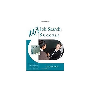 100% Job Search Success, Used Book (9780495913733)