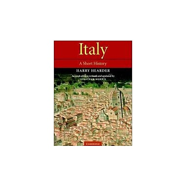 Italy: A Short History, New Book (9780521000727)