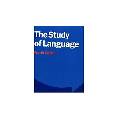 The Study of Language, New Book (9780521749220)