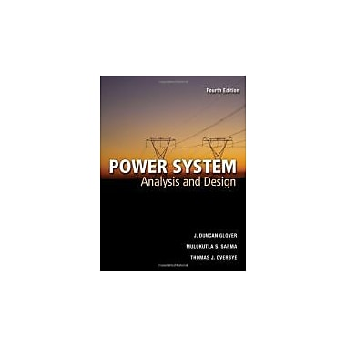 Power Systems Analysis and Design, Used Book (9780534548841)
