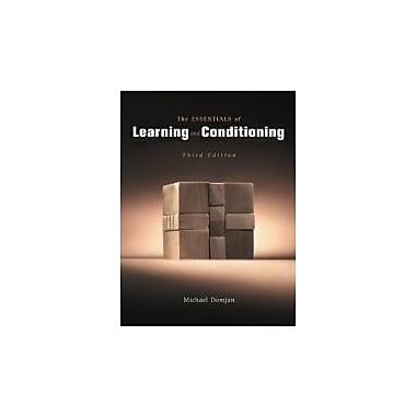 The Essentials of Conditioning and Learning
