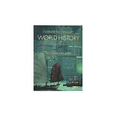 Twentieth-Century World History (with Map Tutor and InfoTrac), Used Book (9780534578794)