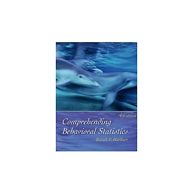 Comprehending Behavioral Statistics (with CD-ROM), Used Book (9780534606275)
