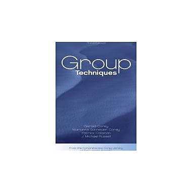 Group Techniques (Group Counseling), New Book (9780534612672)