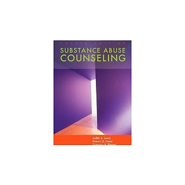 Substance Abuse Counseling, Used Book (9780534628451)