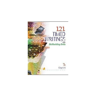 121 Timed Writings with Skillbuilding Drills (with MicroPace Pro Individual) (Bpa), New Book (9780538444392)