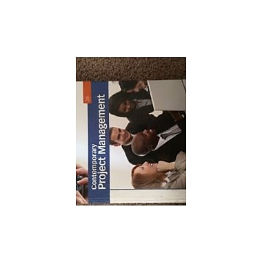 CONTEMPORARY PROJECT MANAGEMEN, Used Book (9780538477024)