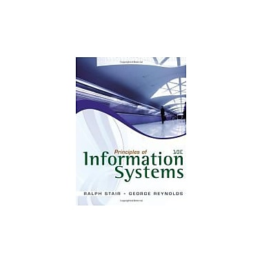 Principles of Information Systems (with Online Content Printed Access Card), New Book (9780538478298)