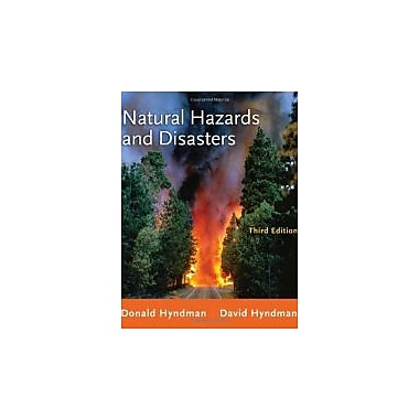 Natural Hazards and Disasters, Used Book (9780538737524)
