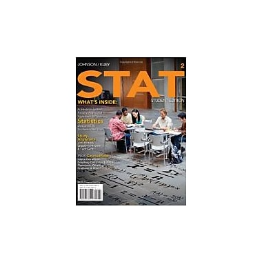 STAT 2 (with Review Cards and CourseMate Printed Access Card) (Available Titles Aplia), Used Book (9780538738415)