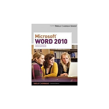 Microsoft Word 2010: Complete (Shelly Cashman Series(r) Office 2010), Used Book (9780538743907)