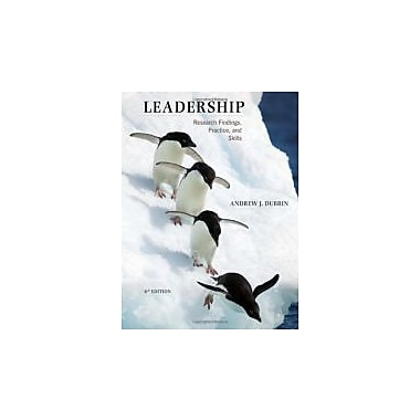 Leadership: Research Findings, Practice, and Skills, New Book (9780547143965)