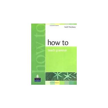 How to Teach Grammar, Used Book (9780582339323)
