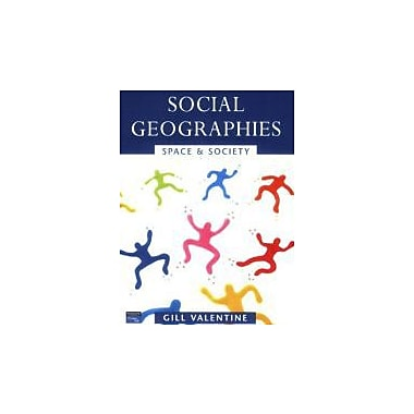 Social Geographies: Space and Society, New Book (9780582357778)
