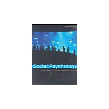 Social Psychology, Canadian Edition, Used Book (9780618767243)