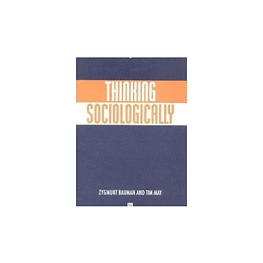 Thinking Sociologically, New Book (9780631219293)