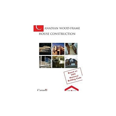 Canadian Wood-frame House Construction (Canadian Wood Frame House Construction), New Book (9780660195353)