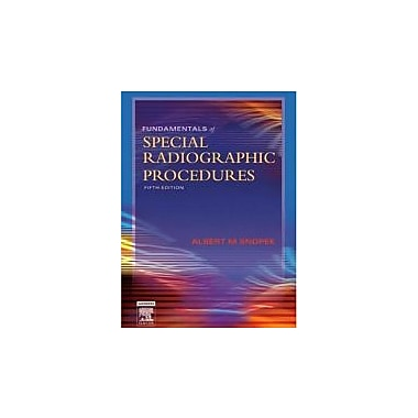 Fundamentals of Special Radiographic Procedures, Used (9780721606323)