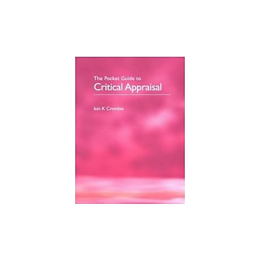Pocket Guide to Critical Appraisal, New Book (9780727910998)