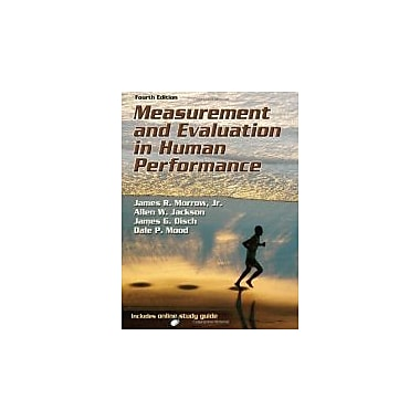 Measurement and Evaluation in Human Performance With Web Study Guide-4th Edition, Used Book (9780736090391)